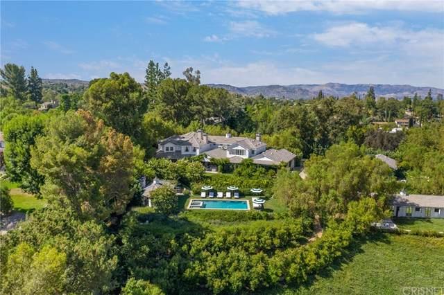 24304 Little Valley Road, Hidden Hills, CA 91302 (#SR21161943) :: RE/MAX Empire Properties