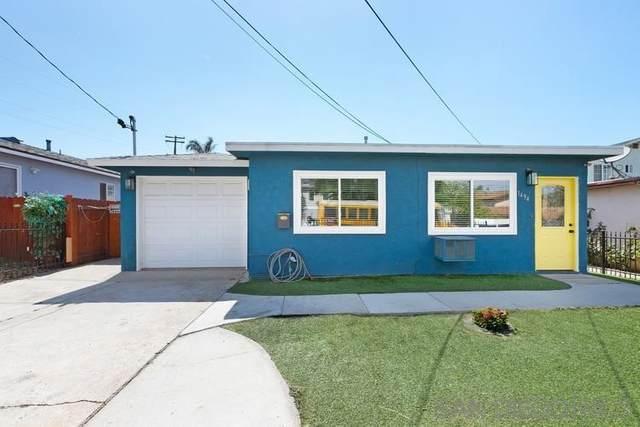 1494 14th St, Imperial Beach, CA 91932 (#210021642) :: Latrice Deluna Homes