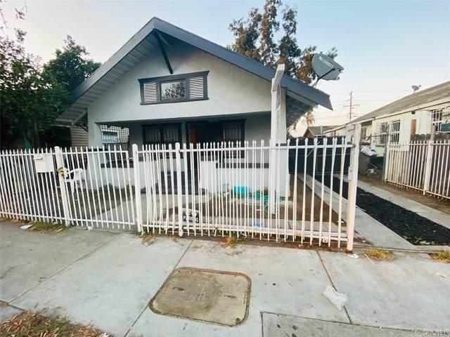 229 W Gage Avenue, Los Angeles (City), CA 90003 (#DW21167726) :: A|G Amaya Group Real Estate
