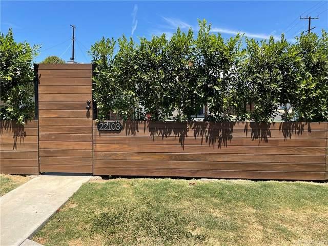 22103 Runnymede Street, Canoga Park, CA 91303 (#SR21167738) :: RE/MAX Empire Properties