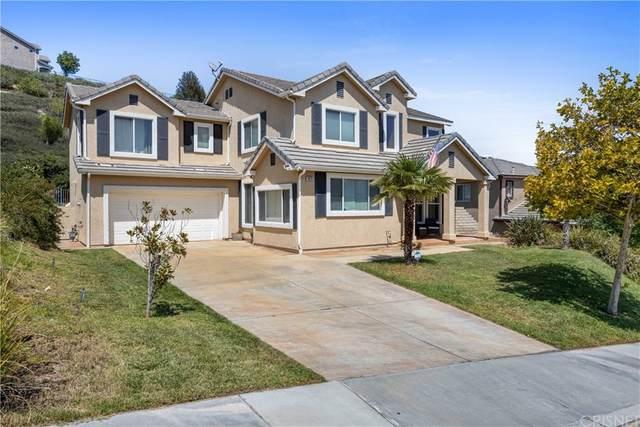 19015 Saddleback Ridge Road, Canyon Country, CA 91351 (#SR21167014) :: The Najar Group