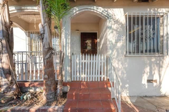 10502 Ravenswood Avenue, Inglewood, CA 90304 (#SB21142005) :: Elevate Palm Springs