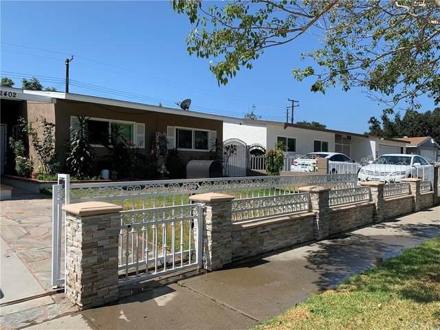 2402 Mark Street, Santa Ana, CA 92703 (#PW21168334) :: Zutila, Inc.