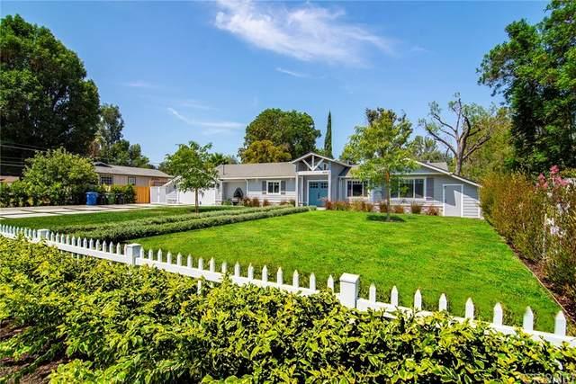 6009 Oakdale Avenue, Woodland Hills, CA 91367 (#SR21168393) :: Cochren Realty Team | KW the Lakes
