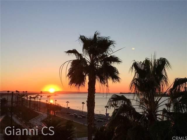 25 15th Place #802, Long Beach, CA 90802 (#SB21167465) :: TeamRobinson   RE/MAX One