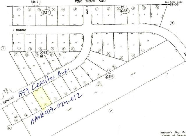 1359 Cerritos Avenue, Salton City, CA 92275 (#219065657DA) :: Steele Canyon Realty
