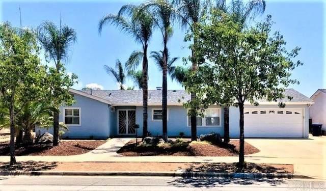 9349 Saint Andrews Dr., Santee, CA 92071 (#NDP2109001) :: Latrice Deluna Homes