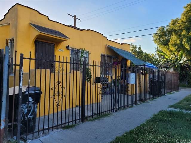 8217 Towne Avenue, Los Angeles (City), CA 90003 (#RS21169193) :: Zen Ziejewski and Team