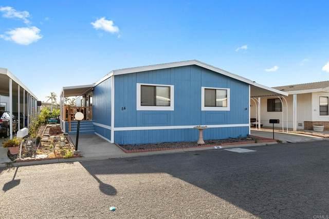 200 S Emerald Dr #54, Vista, CA 92081 (#NDP2109003) :: Latrice Deluna Homes