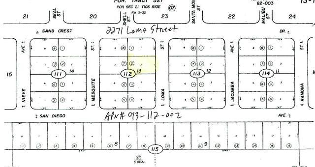 2271 Loma Street, Salton City, CA 92275 (#219065668DA) :: Steele Canyon Realty