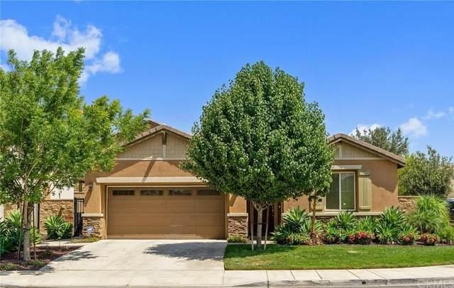 15358 Chive Lane, Fontana, CA 92336 (#CV21166534) :: American Real Estate List & Sell