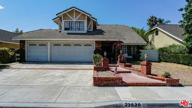23526 Estrella Place, Santa Clarita, CA 91355 (#21768402) :: Necol Realty Group