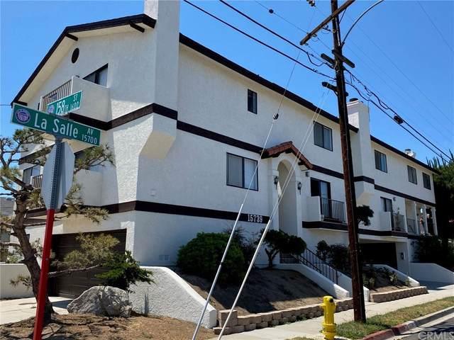 15739 La Salle Avenue, Gardena, CA 90247 (#WS21170452) :: Blake Cory Home Selling Team
