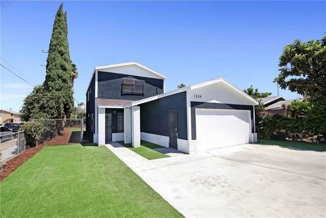1359 W 61st Street, Los Angeles (City), CA 90044 (#PW21172698) :: Mainstreet Realtors®