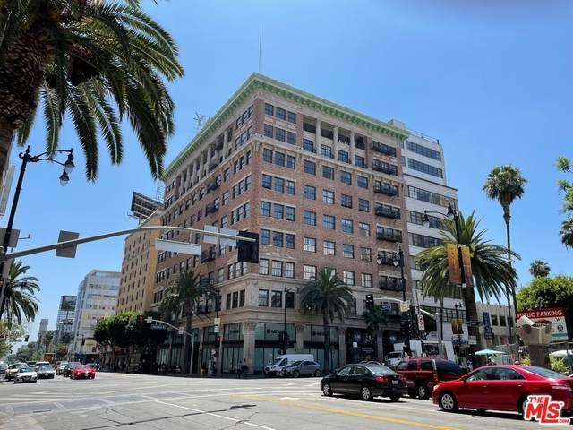 1645 N Vine Street #609, Los Angeles (City), CA 90028 (MLS #21770588) :: Desert Area Homes For Sale