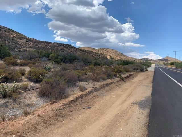 Old Highway 80, Jacumba, CA 91934 (#NDP2109439) :: RE/MAX Empire Properties