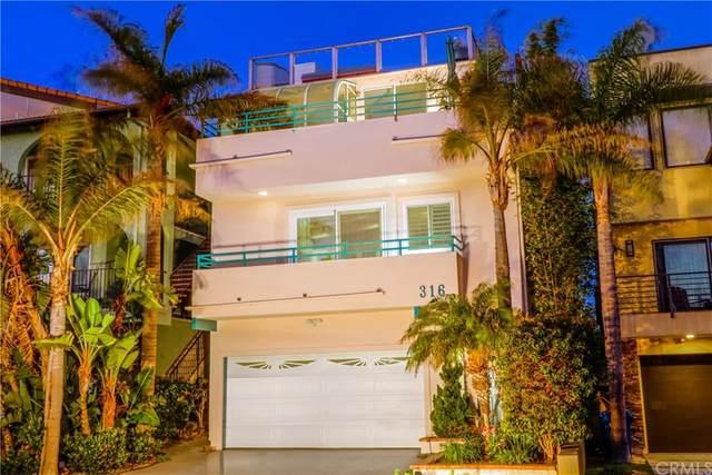 316 Monterey Boulevard, Hermosa Beach, CA 90254 (#OC21179634) :: Corcoran Global Living