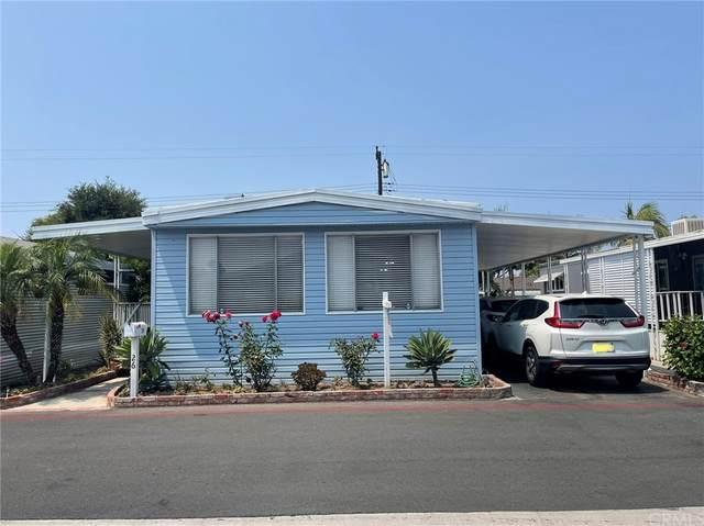 3050 W Ball Road #26, Anaheim, CA 92804 (#PW21178064) :: Wendy Rich-Soto and Associates