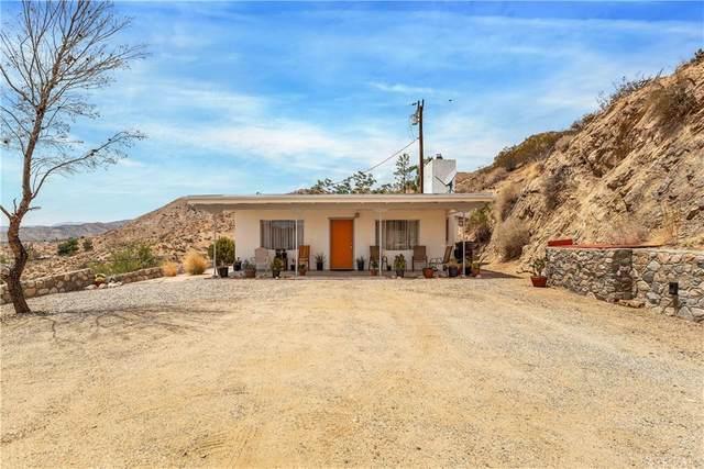 52106 Cactus Lane, Morongo Valley, CA 92256 (#JT21190206) :: Swack Real Estate Group   Keller Williams Realty Central Coast