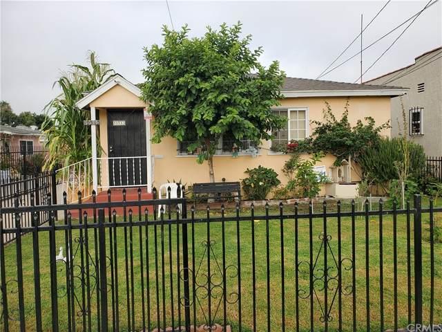 10513 Burin Avenue, Inglewood, CA 90304 (#PW21185716) :: RE/MAX Empire Properties