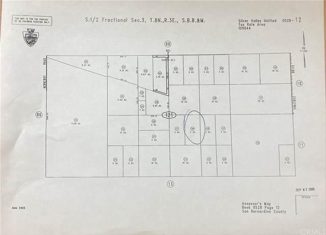 0 Jasper Road, Newberry Springs, CA 92365 (#PI21191764) :: Zutila, Inc.