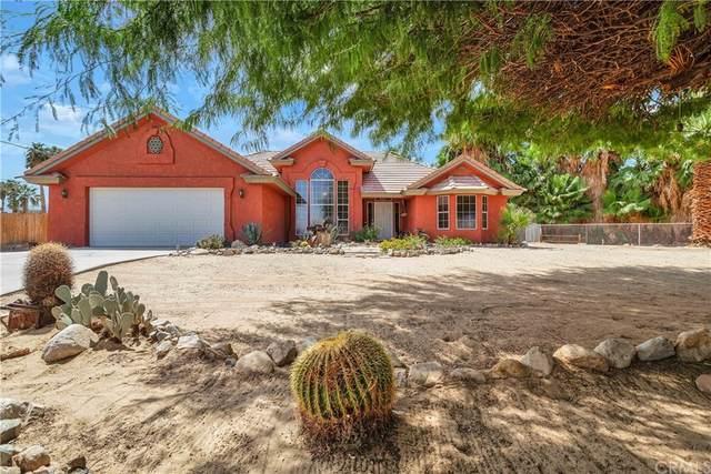 4592 Saddlehorn Road, 29 Palms, CA 92277 (#JT21182644) :: A|G Amaya Group Real Estate
