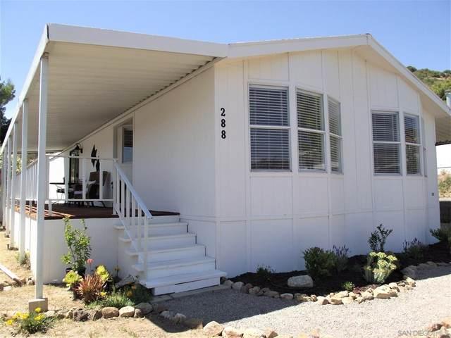 35109 Highway 79 Spc/Unit #288, Warner Springs, CA 92086 (#210024942) :: Corcoran Global Living