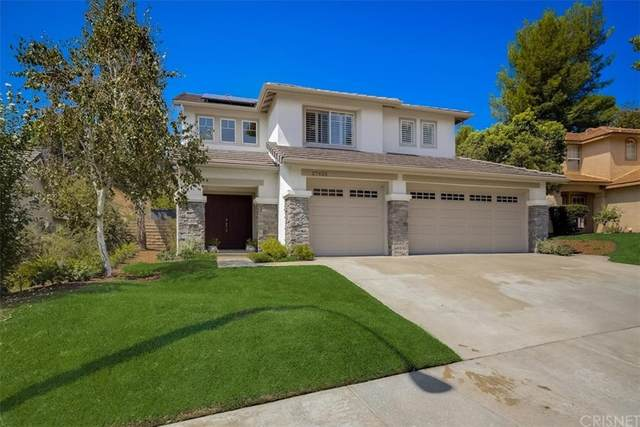 27625 Ron Ridge Drive, Saugus, CA 91350 (#SR21196723) :: RE/MAX Empire Properties