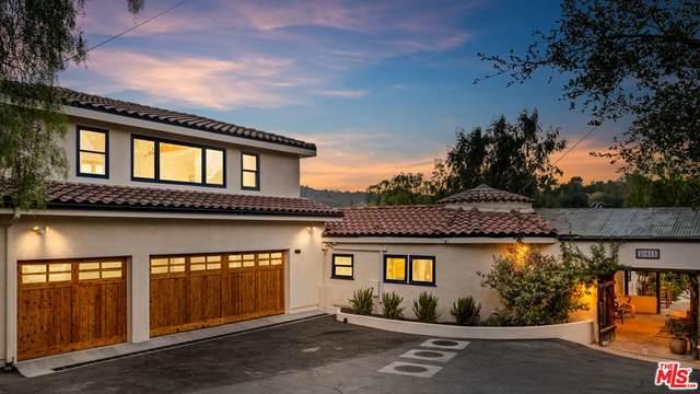 20613 Callon Drive, Topanga, CA 90290 (#21780568) :: Steele Canyon Realty