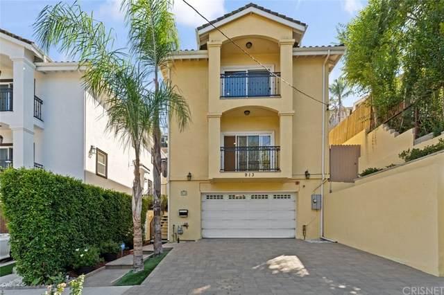 913 Montecito Drive, Los Angeles (City), CA 90031 (#SR21197764) :: Jett Real Estate Group