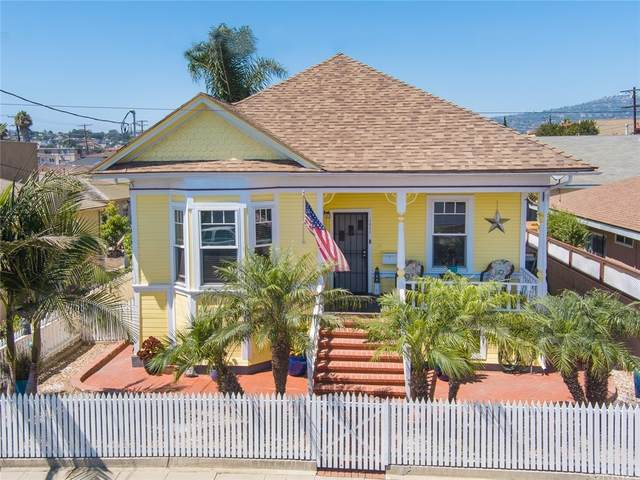 1611 S Mesa, San Pedro, CA 90731 (#SB21188752) :: Latrice Deluna Homes