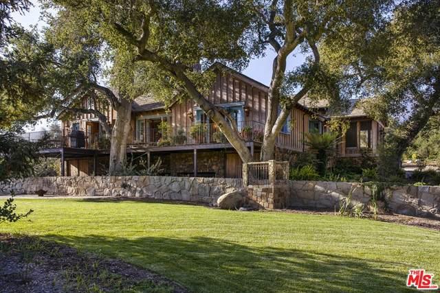 1780 Glen Oaks Drive, Santa Barbara, CA 93108 (#21781706) :: Corcoran Global Living