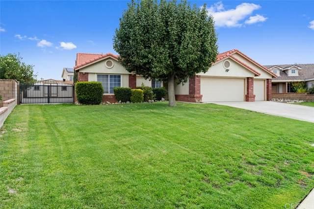 42222 58th Street W, Quartz Hill, CA 93536 (#SR21199344) :: Corcoran Global Living