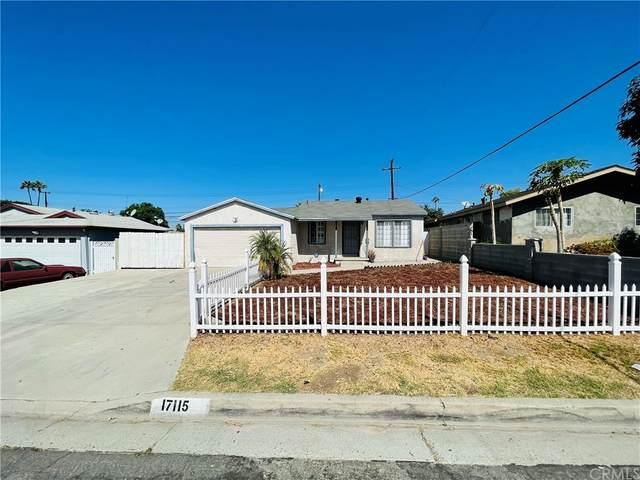 17115 Broadvale Drive, La Puente, CA 91744 (#TR21199969) :: RE/MAX Masters