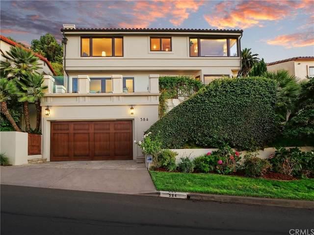 584 Via Almar, Palos Verdes Estates, CA 90274 (#PV21199085) :: Corcoran Global Living