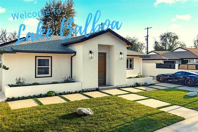 17460 Cohasset Street, Lake Balboa, CA 91406 (#SR21200062) :: Steele Canyon Realty