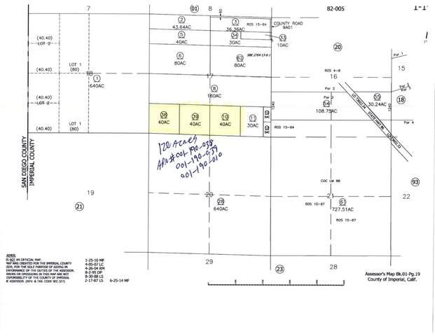 0 120 Acres Raw Land, Salton City, CA 92275 (#219067390DA) :: Steele Canyon Realty