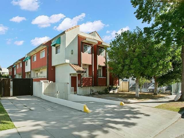 312 Thompson Avenue #106, Glendale, CA 91201 (#BB21177938) :: Corcoran Global Living