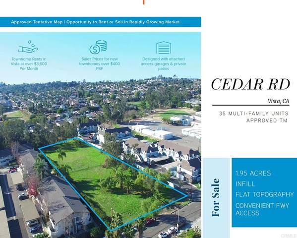 206 Cedar Rd., Vista, CA 92083 (#NDP2110636) :: RE/MAX Empire Properties