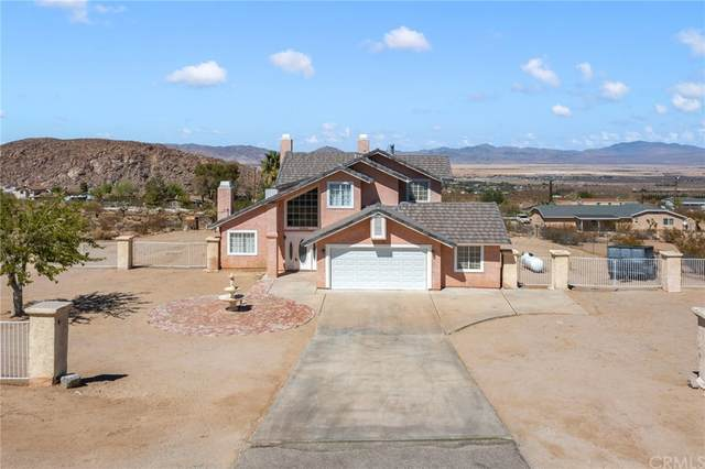 32360 Sapphire Road, Lucerne Valley, CA 92356 (#IV21202092) :: Steele Canyon Realty