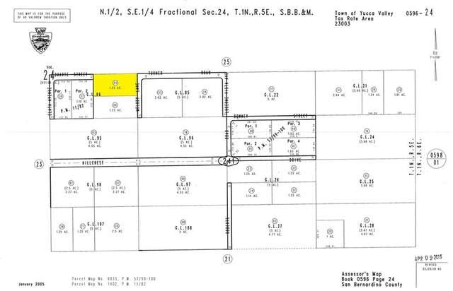0 Wind Song Avenue, Yucca Valley, CA 92284 (#SW21202456) :: Zen Ziejewski and Team