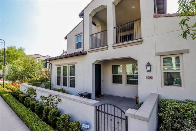 102 Trailblaze, Irvine, CA 92618 (#OC21201184) :: RE/MAX Empire Properties