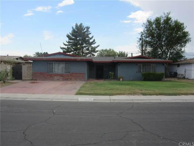 82257 El Paseo Avenue, Indio, CA 92201 (MLS #OC21202569) :: Brad Schmett Real Estate Group