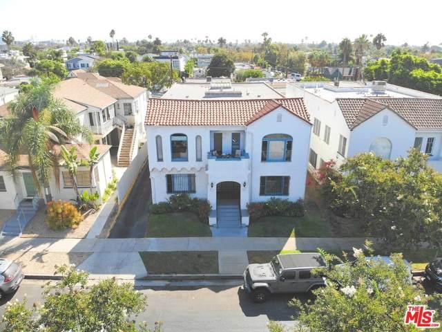 606 N Spaulding Avenue, Los Angeles (City), CA 90036 (#21783712) :: Steele Canyon Realty
