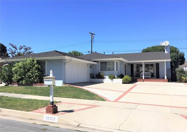 26303 Barkstone Drive, Rancho Palos Verdes, CA 90275 (#PV21203045) :: The Miller Group