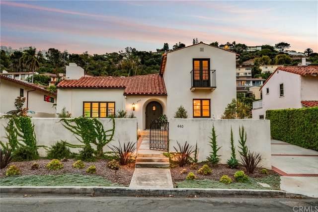 440 Via Media, Palos Verdes Estates, CA 90274 (#PV21203152) :: The Miller Group
