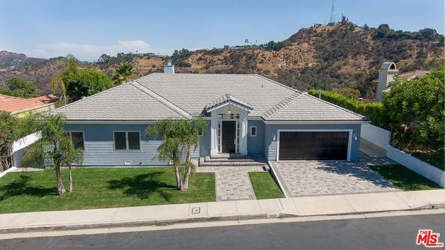 12024 Summit Circle, Beverly Hills, CA 90210 (#21783358) :: The Miller Group