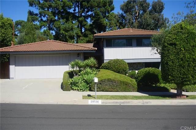 29536 Quailwood Drive, Rancho Palos Verdes, CA 90275 (#SB21202473) :: The Miller Group