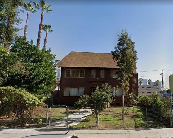 1034 Beacon Avenue, Los Angeles (City), CA 90015 (#OC21194389) :: Zen Ziejewski and Team