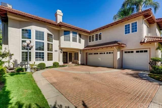 18675 Hillsboro Road, Porter Ranch, CA 91326 (#SR21204069) :: Corcoran Global Living